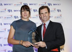 2008 Sports awards - Rebecca Romero