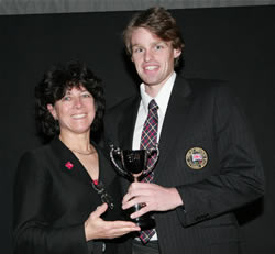 2006 Sports awards - Alan Campbell