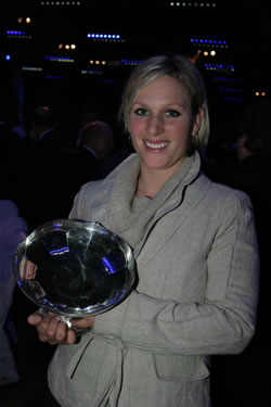 2006 Sports awards - Zara Philips
