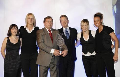 2007 Sports awards - Arsenal ladies