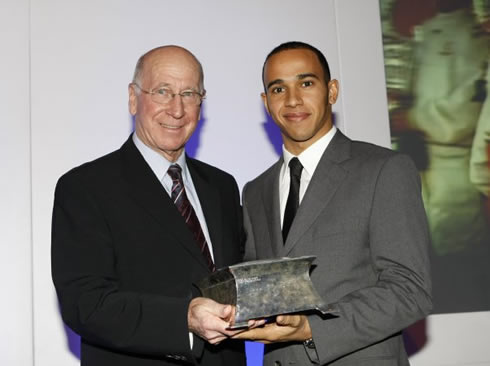 2007 Sports awards - Charlton and Hamilton