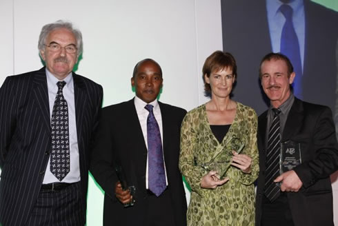 2007 Sports awards - Des Lynam