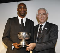 2009 Sports awards - Pat Besford Trophy