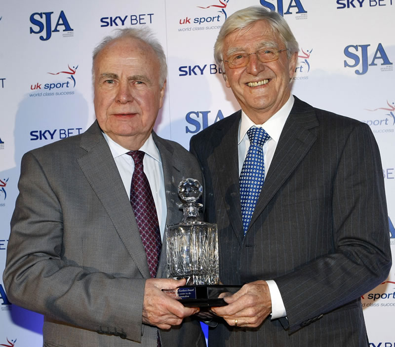 Hugh McIlvanney - Doug Gardner trophy