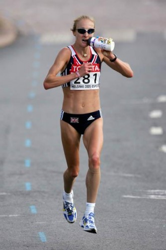 Multiple world champion and world record-breaker Paula Radcliffe was five times the BAWA's woman athlete of the year
