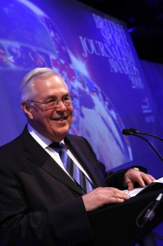 2008 Journalism awards - Barry Newcombe