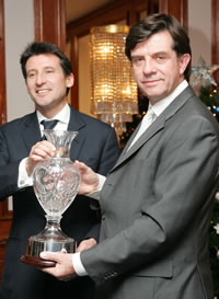 Lord Sebastian Coe and David Welch