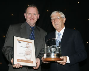 2005 Journalism awards - Hewitt and Parkinson