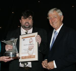 2005 Journalism awards - Samuel and Parkinson