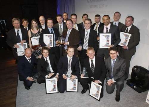 2008 Journalism awards - Winners group