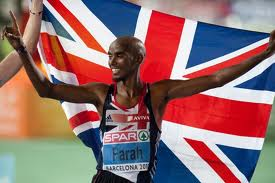 Winning smile: Mo Farah, double world and Olympic champion