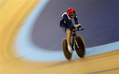 Sarah Storey on the way to one of her four London Paralympic gold medals, bringing her career tally, across two sports, to a record-equalling 11