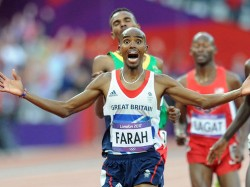 With two Olympic gold medals, Mo Farah has a chance of winning the votes of the BAWA membership as their male athlete of 2012