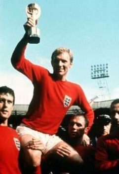 Golden days: Captain Bobby Moore on his day of days in 1966