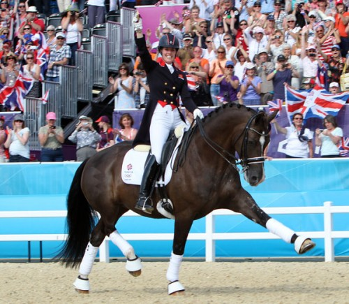 Horse of the year show: Charlotte Dujardin and her brilliant