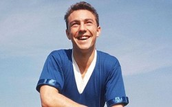 Jimmy Greaves: a teenaged sensation more than half a century ago