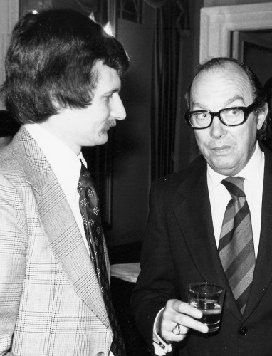 "A comedy double act that starred in the Express: ""Norma"" Giller and Eric Morecambe"