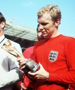 Do you have archive images or footage of England's World Cup-winning captain?