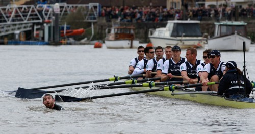 Xchanging Oxford v Cambridge Boat Race 2012
