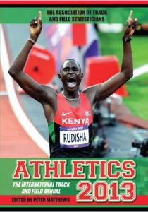 This year's edition of the International Athletics Annual, published by Randall Northam's company