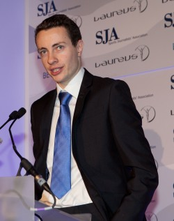 James Gheerbrant: Student Sports Writer of the Year 2012