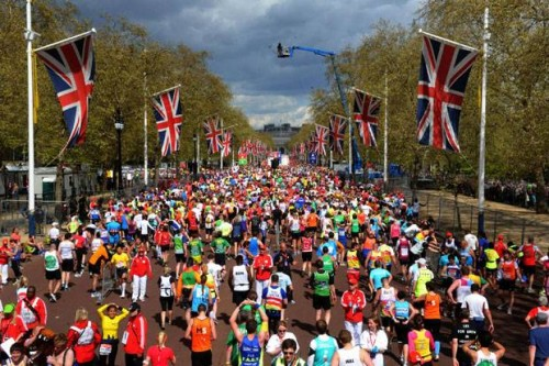 Good luck, and a safe run, to all Sunday's London Marathon runners, as Norman Giller watches out for his grand-daughter