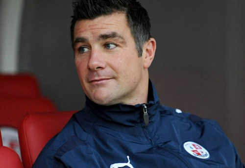 Making headlines: Crawley Town manager Richie Barker