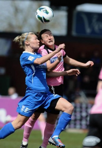 Women's football: and another free picture from Getty