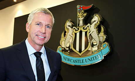 No questions, no answers: Alan Pardew, the manager at Newcastle United, which has banned local papers from his press conferences