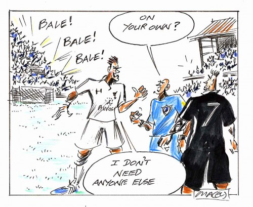 Bale cartoon