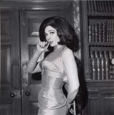 Fenella Fielding, British movie star of the 1960s, and apparently well-regarded in Burton newspaper offices