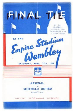 1936 final programme