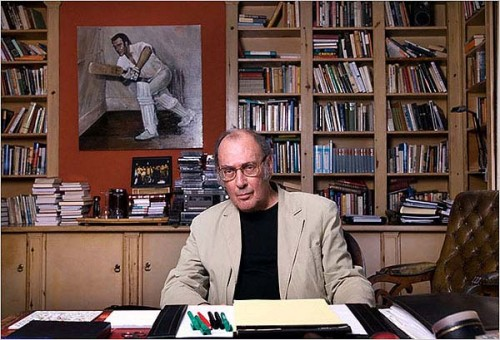 Playwright, or cricket writer? Harold Pinter, a delightful lunch companion