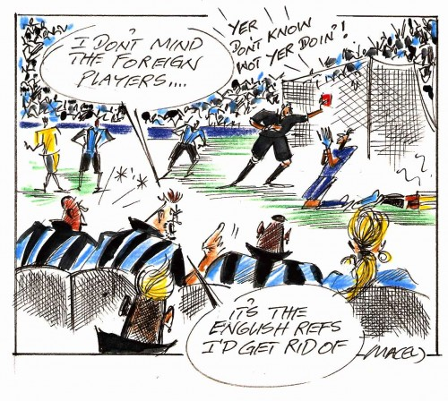 Macey Giller cartoon