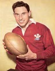 Proud Welshman: Morgan in his playing days