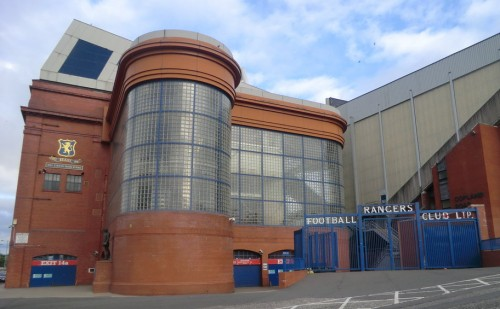 Ibrox Park, home of Rangers, will host