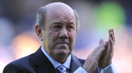 Howard Kendall: happiest at Goodison