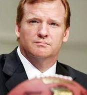 "Roger Goodell: the ""most powerful man in world sports"" is the SJA's lunch guest on Oct 24"