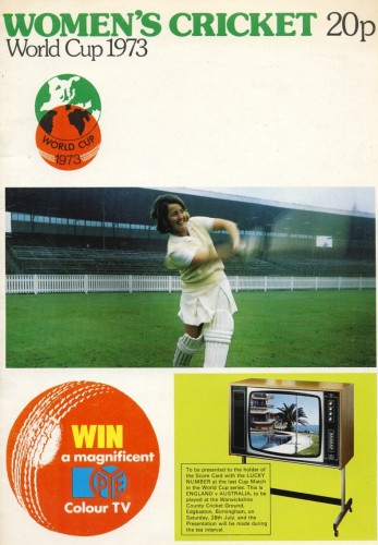 The 1973 World Cup programme