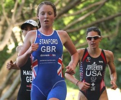Hyde perk: Non Stanford maintained Britain's record in triathlon
