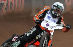 Speed master: Tai Woofinden, Britain's first speedway world champion for 13 years