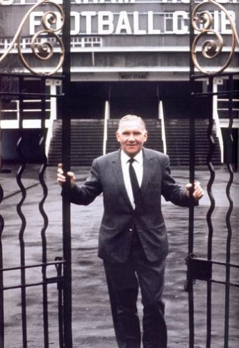Bill's gates: Nicholson virtually built Tottenham into the club it is today, all on less than £200 a week