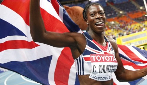 Champion moment: Christine Ohuruogu reclaimed the 400m world title in August, six years after first winning global gold