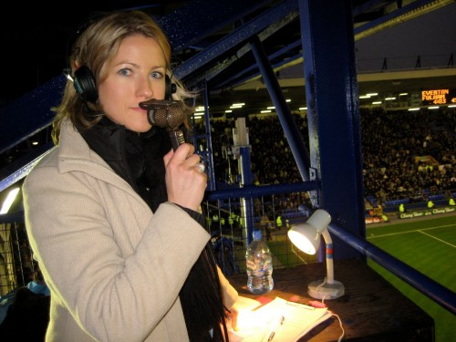 Jacqui Oatley: Match of the Day's first woman commentator