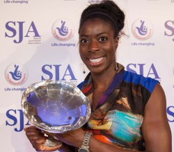 2013's Sportswoman of the Year Christine Ohuruogu. Who will be our 2014 winners?