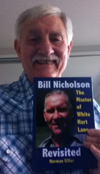 Would never have happened in our day... Norman Giller with his latest book