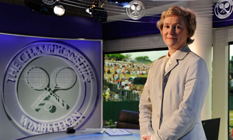 The BBC's Barbara Slater: one of the most senior women sports journalists in Britain