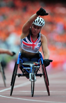 Double world champion Hannah Cockcroft: the SJA's Paralympic Sportswoman of the Year
