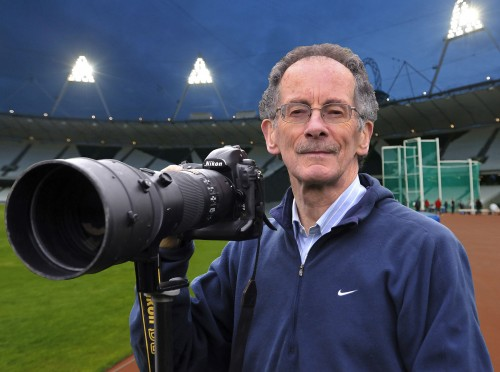 Mark Shearman MBE: been covering sport for more than half a century