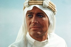 O'Toole as Lawrence of Arabia, his first major screen role
